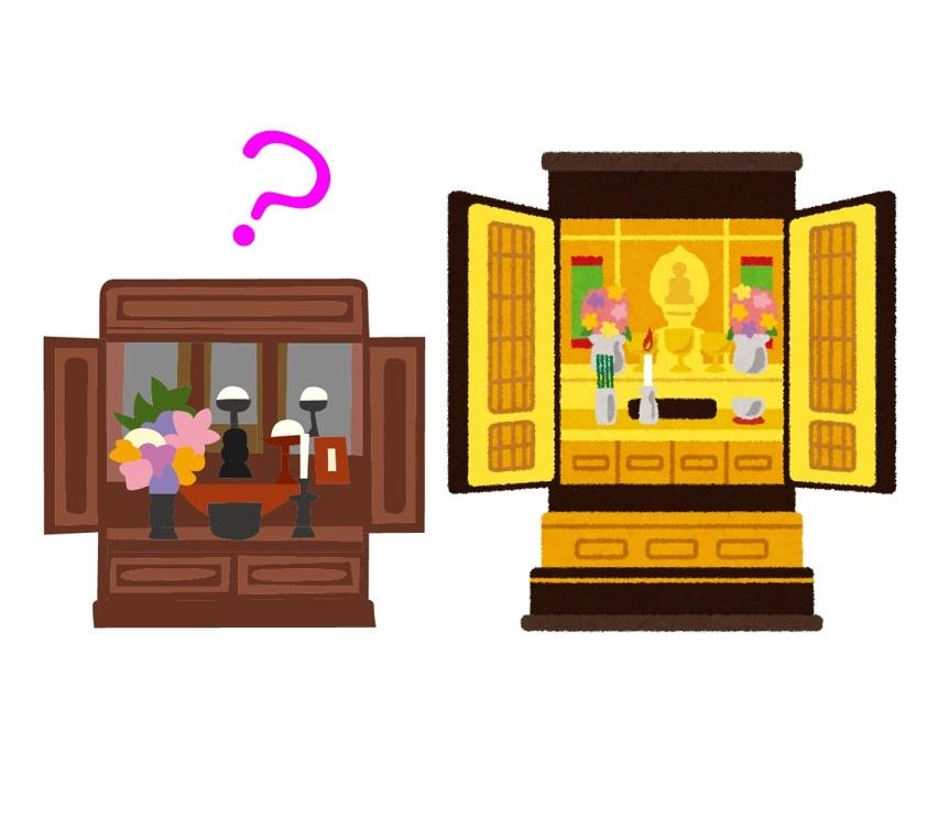 お家に2つお仏壇を置いてもよいの?
